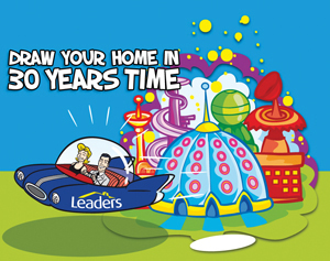 The Theme Of The Competition This Year Is U0027Draw Your Home In 30 Yearsu0027  Timeu0027, To Tie In With Leaders Celebrating Their 30th Anniversary.