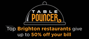 Get 50 off your bill with table pouncer for Table pouncer
