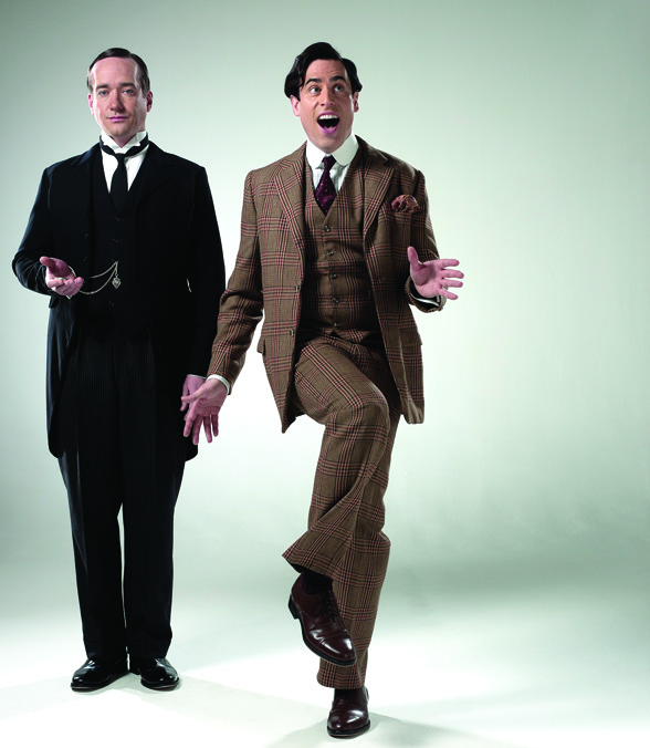 p g wodehouse s jeeves wooster at theatre royal. Black Bedroom Furniture Sets. Home Design Ideas
