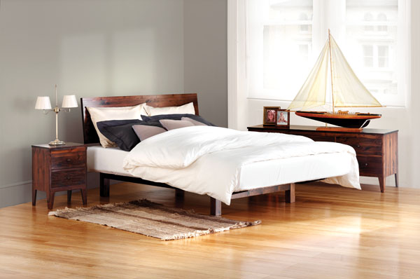 Beautiful handcrafted beds from warren evans for Q furniture brighton co