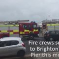 Pier fire engines