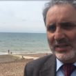 Alan Robbins urges caution when swimming in the sea