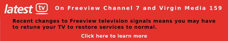 Freeview Retuning Information