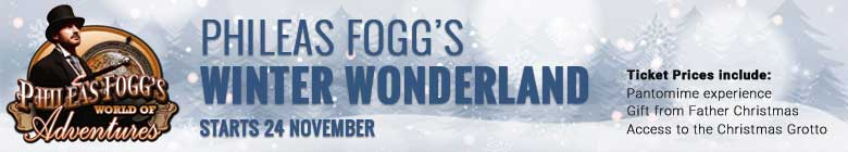 Phileas Fogg's Winter Wonderland