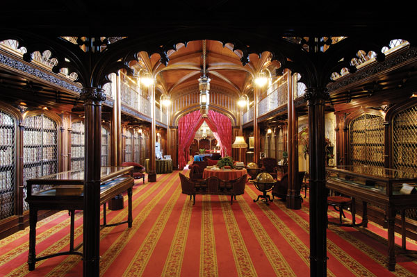 Library-at-Arundel-Castle