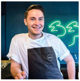 Young Chef of the Year George Boarer Etch