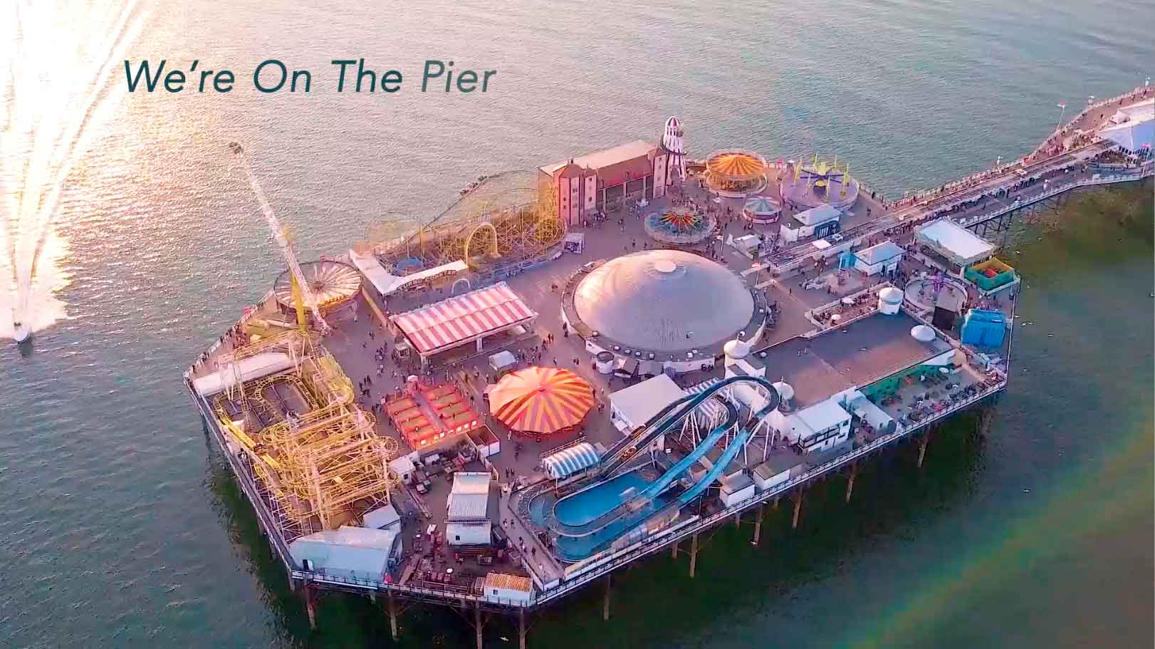 We are on the pier Latest TV