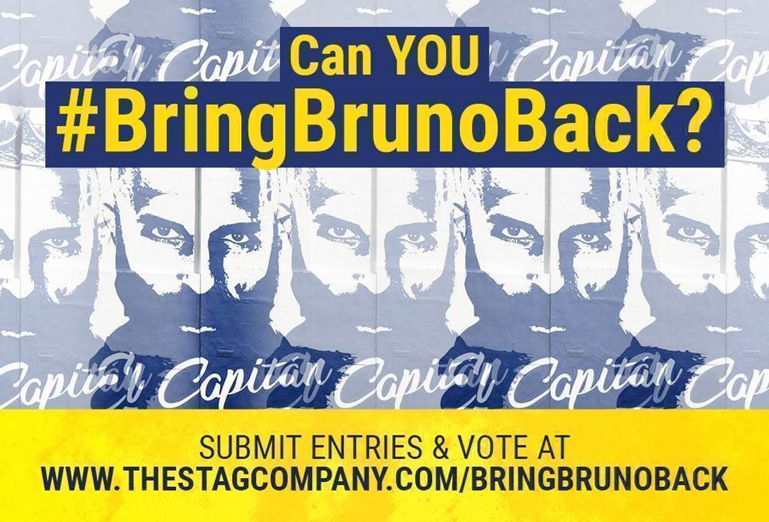 The Stag Company needs you! Can YOU #BringBrunoBack? Calling all budding designers!