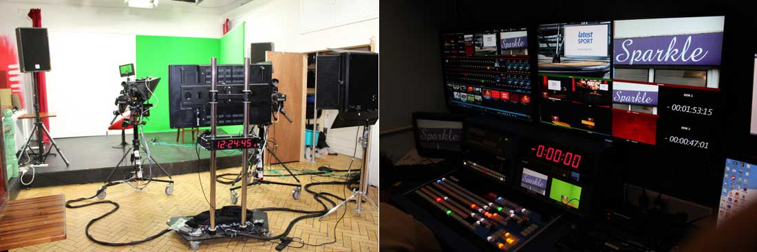 latest TV studio