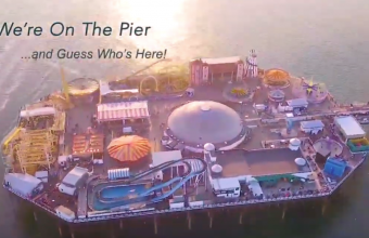 We're on the Pier... and guess who's here - Episode 22