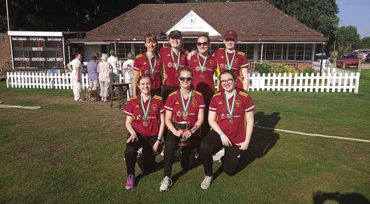 St Peters womens cricket team benefited Pride