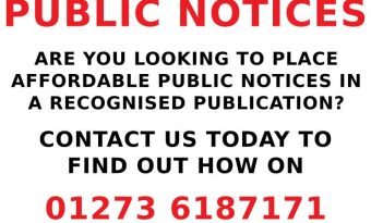 latest brighton public notices