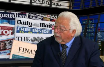 Mike Mendoza talks with Mark Walker about Local and National Newspaper Articles
