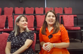 Director Claire Lewis and Actress Amy Spencer talk about their upcoming play Di and Viv and Rose
