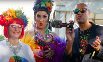 Still from the trailer for Worthing Pride 2021