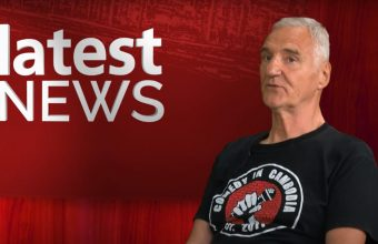 Local Reporter Matt Whistler speaks with Tony Moorewood, a local Comedian who is currently homeless